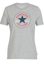 Converse - Solid Chuck Patch Crew Tee Grey