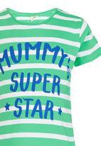 Soobe - Printed Mummy Super Star Tee Green