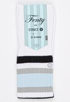 STANCE - Fenty Tip Toe Baby White