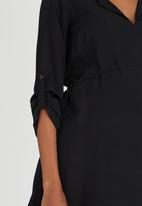edit Maternity - Longer Length Tunic Black