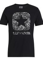 Converse - Short Sleeve Box Star Tee Black