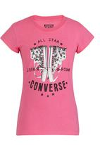 Converse - Born To Roam Tee Mid Pink