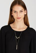 Joy Collectables - Minimal Drop Necklace Gold