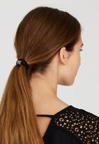 Joy Collectables - Diamante Hair Ties Black