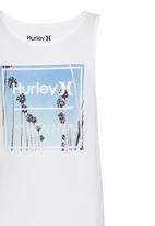 Hurley - Hurley -B-Spinner Photo Singlet White