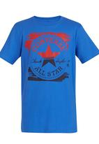 Converse - Painted Chuck Tee Mid Blue