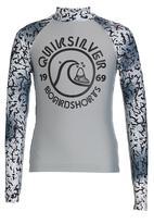 Quiksilver - Social Scientist  Boys Rashvest Grey