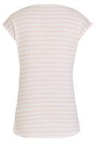GUESS - Stripe Back Logo Tee White