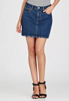 Levi's® - Icon Denim Skirt Dark Blue