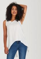 edit - Cami with Back Lace Detail Milk