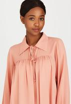 edit - Baby Doll Top Coral