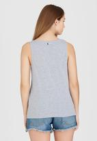 Roxy - Psyche Vest Pale Grey