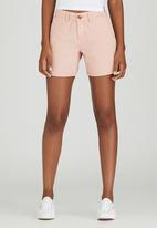JEEP - Canvas Shorts Pale Pink