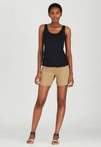 JEEP - Canvas Shorts Mid Brown