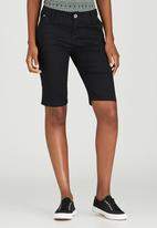 JEEP - Stretch Twill Shorts Black