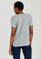 edit - Slouchy Knit Top Grey