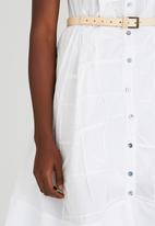 Judith Atelier - Hand Pleated Summer Dress White