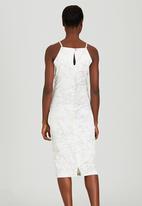 Judith Atelier - Marbled Midi Dress Milk
