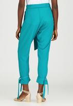 Judith Atelier - Loose Fit Harem Pants Turquoise