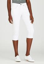JEEP - Denim Capri White