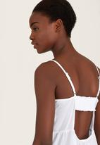 c(inch) - Tiered Cami White
