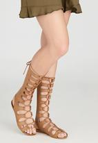 Billini - Infinity Gladiator Sandals Tan