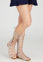 Billini - Infinity Gladiator Sandals Neutral
