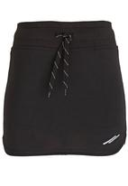 Lithe - Poly Spandex Mini Skirt Black