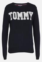 Tommy Hilfiger - Rachel Logo Sweatshirt Navy