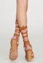 Billini - Preen Ankle-strap Heels Tan