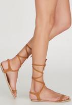 Billini - Tinder Ankle-strap Sandals Tan