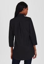 edit Maternity - Longer Length Shirt Black