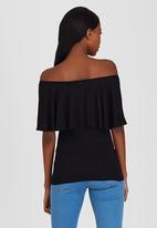 c(inch) - Bardot T-shirt Black