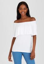 c(inch) - Bardot T-shirt White