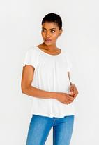 edit - Swing top - white