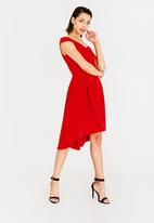 242d341fa983 Bardot Fit And Flare Dress Red STYLE REPUBLIC Formal