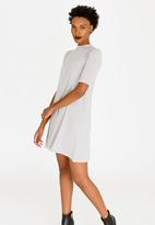 ONLY - Veronica Dress Pale Grey