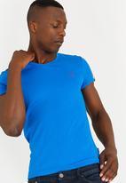 SOVIET - Bolt Evo Muscle Tee Mid Blue