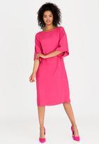 Isabel de Villiers - Tunic Dress Cerise Pink