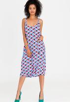 Isabel de Villiers - Slip Dress Multi-colour