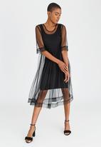 Isabel de Villiers - Tulle Summer Dress Black