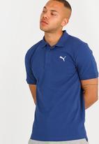 PUMA - Pique Polo Blue