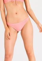 Billabong  - Meshing With You Tropic Bottoms Mid Pink