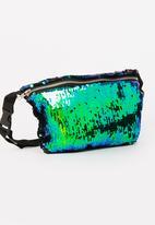 STYLE REPUBLIC - Sequin Waist-bag Multi-colour