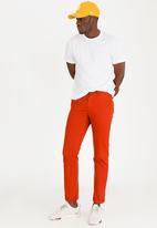 STYLE REPUBLIC - Straight Leg Chino Rust