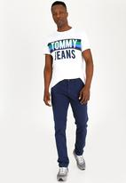 Tommy Hilfiger - Basic Slim Chino Pants Blue