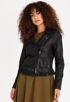 Vero Moda - Taylor Leather-look Jacket Black
