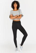 c(inch) - Stirrup Leggings Black