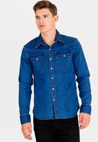 Levi's® - Barstow western shirt - blue