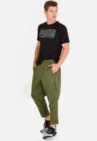 PUMA - Fashion t7 pants capulet olive khaki green